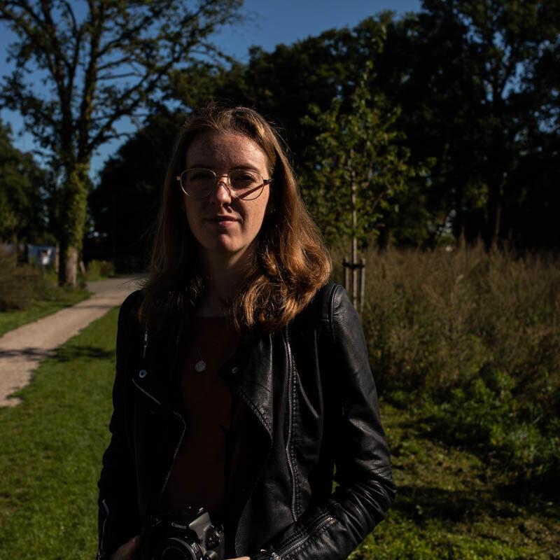 Stagiaire-Lieke-tijdens-workshop-bij-Christie Agema Fotografie
